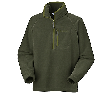 photo: Columbia Fast Trek Half Zip Fleece fleece top