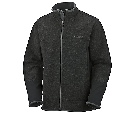 photo: Columbia Grade Max Full Zip Sweater wool jacket
