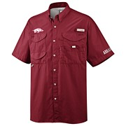 Men's Collegiate Bonehead™ Short Sleeve Shirt - Arkansas
