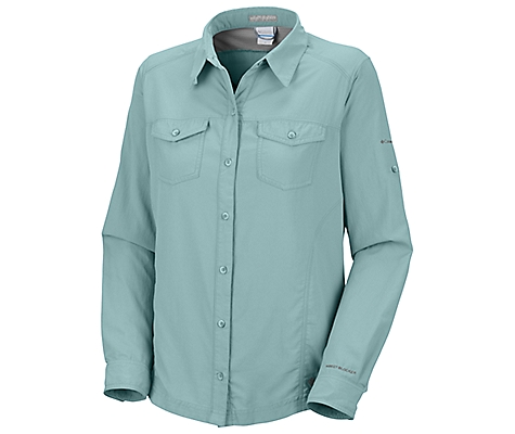 photo: Columbia Women's Bug Shield Shirt hiking shirt
