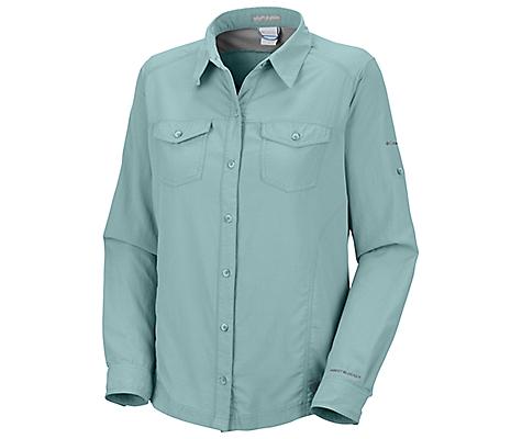 photo: Columbia Women's Bug Shield Shirt hiking shirt