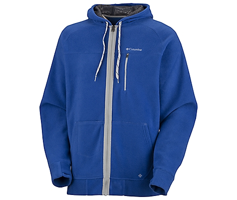 photo: Columbia Get Stoked Hoodie fleece jacket