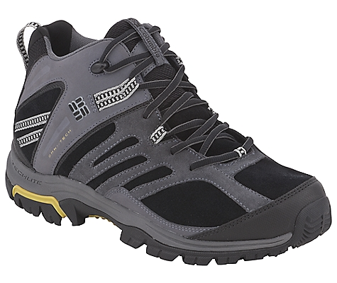 photo: Columbia Shasta Ridge Mid LTR Omni-Tech hiking boot
