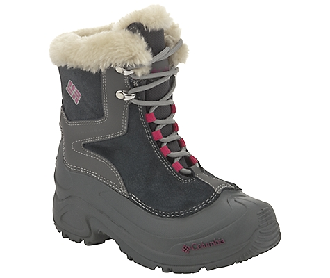 photo: Columbia Girls' Bugaboot Plus Boot winter boot