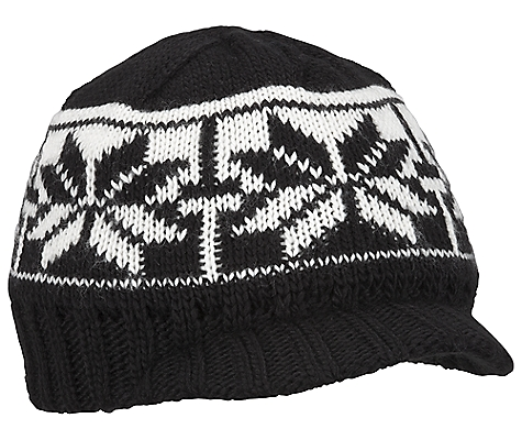 photo: Columbia Peak Ascent Visor winter hat