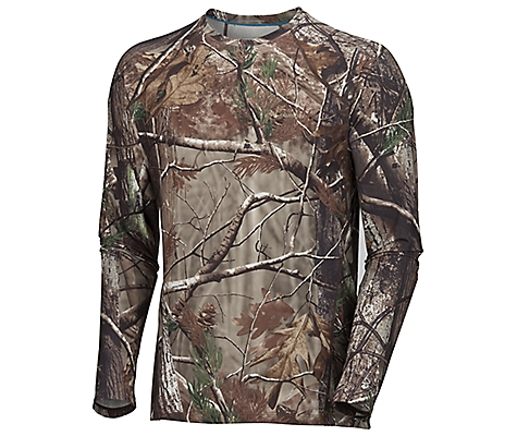 Columbia PHG Camo Baselayer Midweight Long Sleeve Top