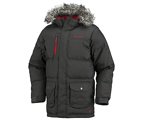 photo: Columbia Snow Destroyer Jacket down insulated jacket