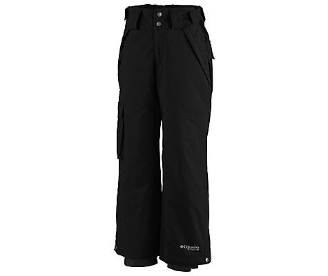 photo: Columbia Boys' Bugaboo Tech Pant snowsport pant