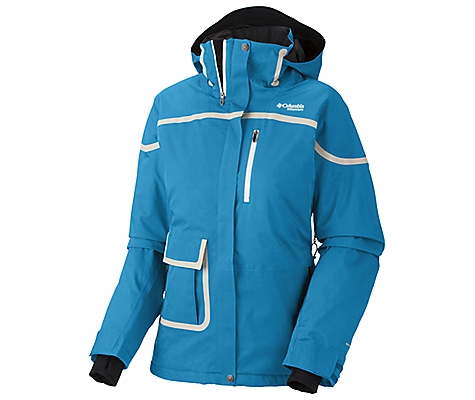 photo: Columbia Slice 'n' Dice Jacket snowsport jacket