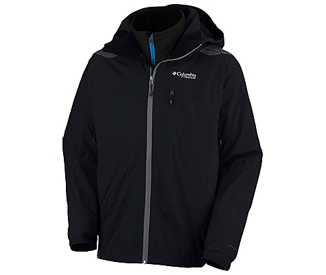 photo: Columbia Men's Melting Point Parka component (3-in-1) jacket
