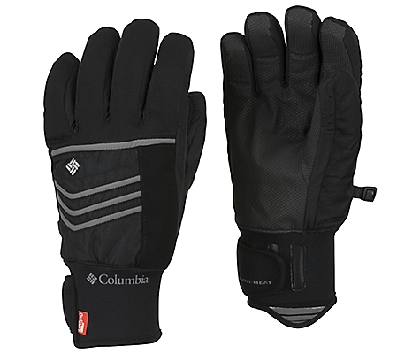 photo: Columbia Men's Gathering Storm Short Gloves