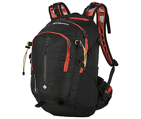 photo: Columbia Trail Grinder 32L daypack (under 2,000 cu in)