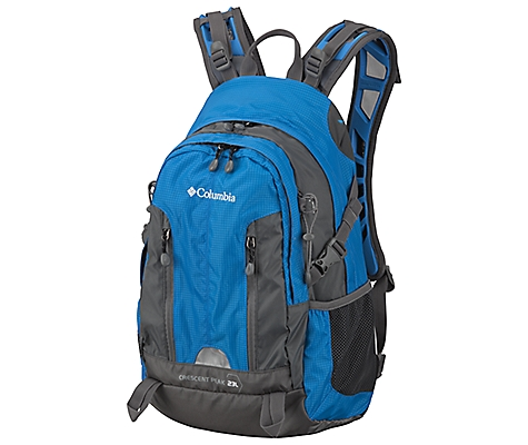 photo: Columbia Crescent Peak 23L daypack (under 2,000 cu in)