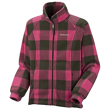 Girls Benton Springs™ Printed Fleece — Toddler
