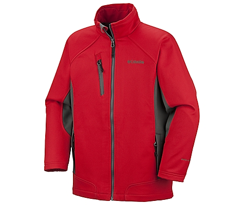 photo: Columbia Mr. Sizzlin Softshell soft shell jacket