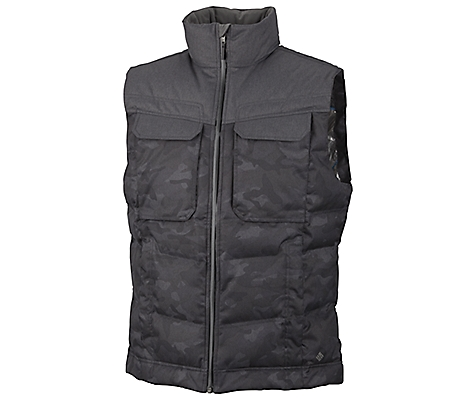 photo: Columbia Tech District Vest down insulated vest