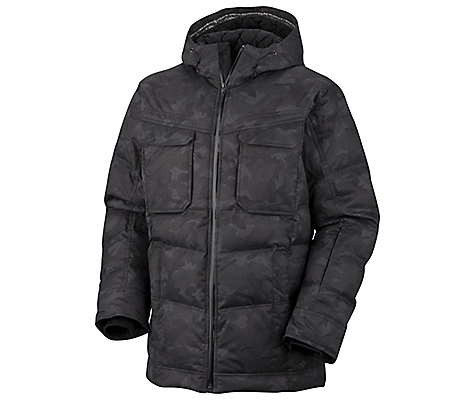 photo: Columbia Central Point Jacket down insulated jacket