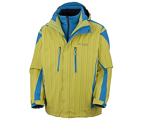 photo: Columbia Antecedent  Parka component (3-in-1) jacket