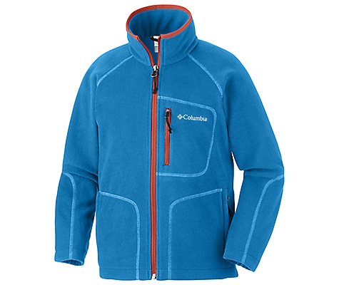 photo: Columbia Boys' Fast Trek Full Zip Fleece fleece jacket