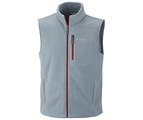 photo: Columbia Fast Trek Fleece Vest