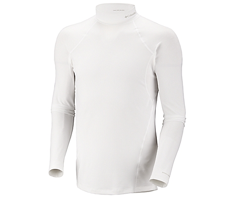 photo: Columbia Men's Baselayer Midweight Mock Neck Long Sleeve