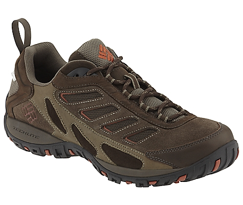 photo: Columbia Pathgrinder Leather OutDry trail shoe