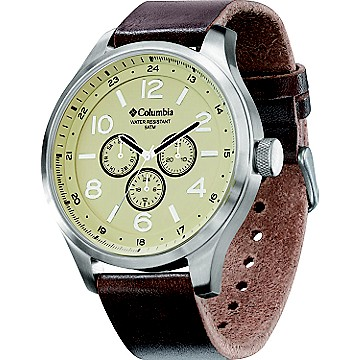 Skyline Leather Watch