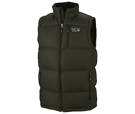 photo: Mountain Hardwear Men's Lodown Vest down insulated vest