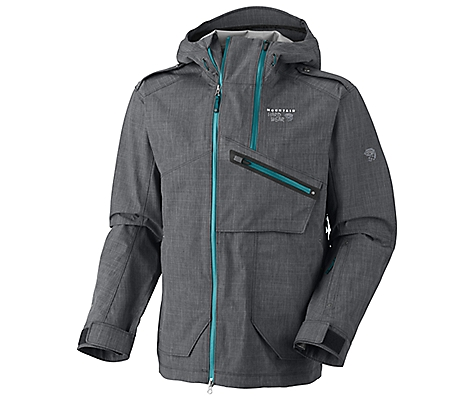 photo: Mountain Hardwear Whole Lotta Jacket waterproof jacket