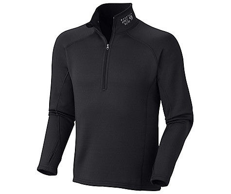 photo: Mountain Hardwear Stretch Thermal Zip-T fleece top