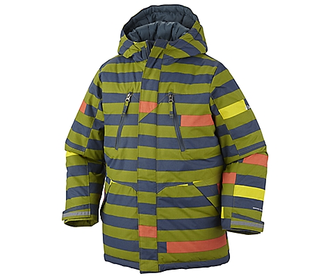 photo: Columbia Ice Slope Long Jacket synthetic insulated jacket
