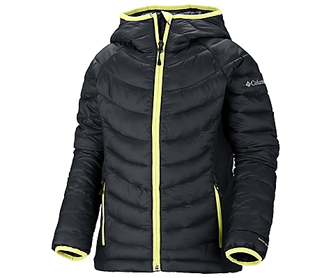 photo: Columbia Powder Lite Hybrid Puffer synthetic insulated jacket