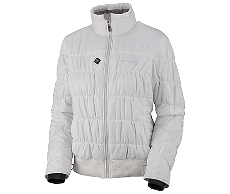 photo: Columbia Women's Electro Amp Jacket synthetic insulated jacket