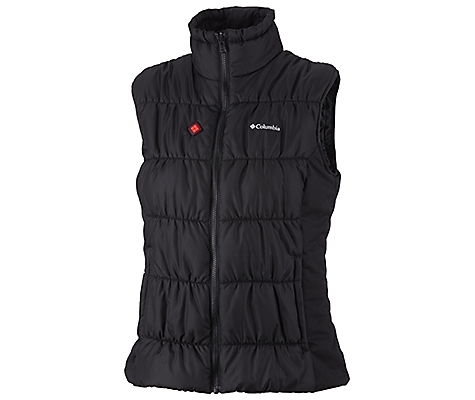photo: Columbia Women's Electro Amp Core Vest synthetic insulated vest