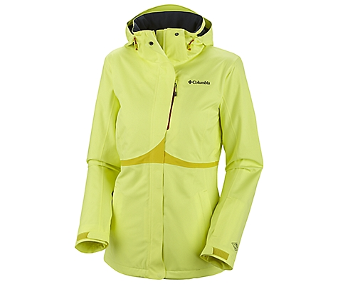 photo: Columbia Bugaboo Tech Shell waterproof jacket
