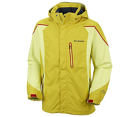 photo: Columbia Bugaboo Kustom Jacket waterproof jacket