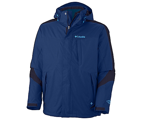 photo: Columbia Men's Whirlibird II Interchange Jacket
