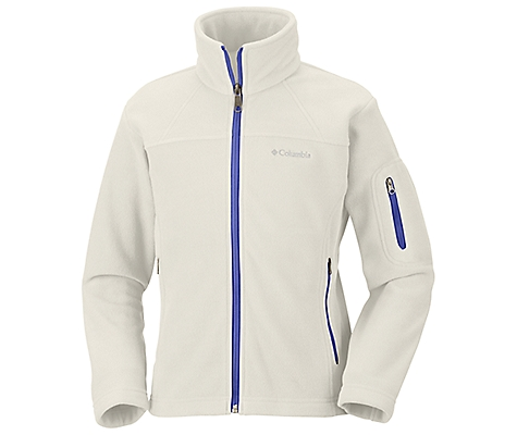 photo: Columbia Girls' Fast Trek Full Zip Fleece