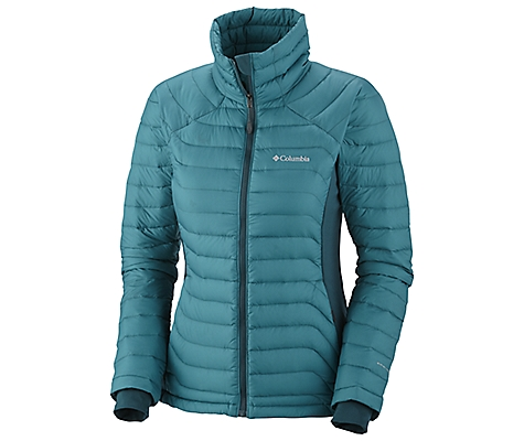 photo: Columbia Powerfly Hybrid Down Jacket down insulated jacket