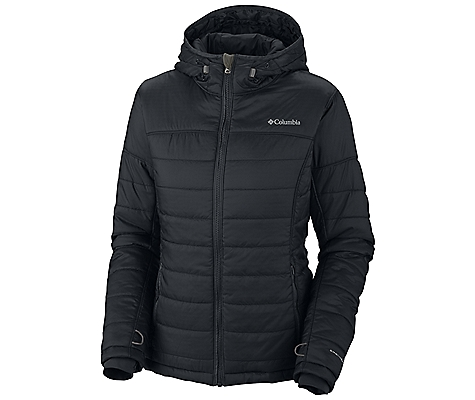 photo: Columbia Shimmer Me Hooded Jacket synthetic insulated jacket