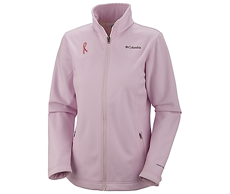 Columbia Tested Tough In Pink Softshell