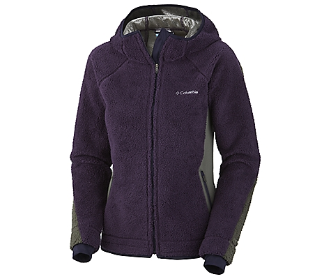 photo: Columbia Crystal Plush Fleece Hoodie fleece jacket