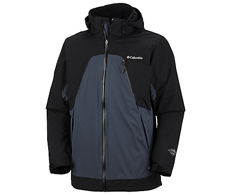 photo: Columbia Glacier to Glade II Interchange Jacket component (3-in-1) jacket