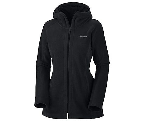 photo: Columbia Benton Springs Long Hoodie fleece jacket