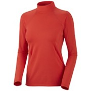 Women's Baselayer Midweight Mock Neck Long Sleeve