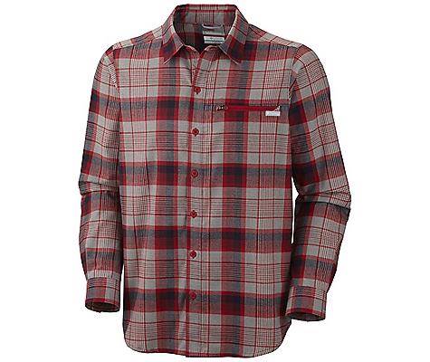 Columbia Cool Creek Plaid Long Sleeve Shirt