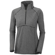 Women's Layer First™ II Stripe 1/2 Zip - Extended Sizes