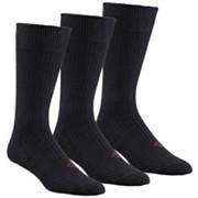 Men's Ribbed Crew Sock - 3 Pack