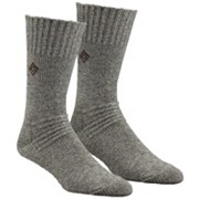 Brushed Wool Crew Sock - 2 Pk