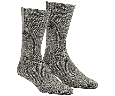 Columbia Brushed Wool Crew Sock